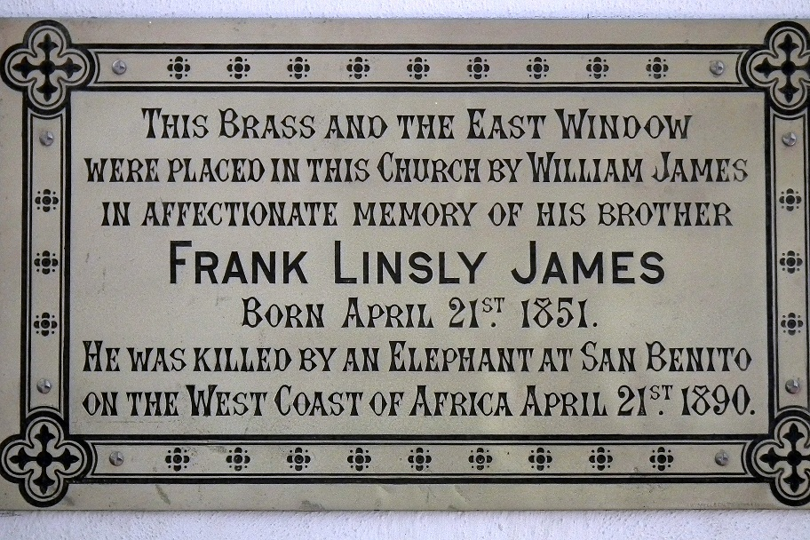 Frank Linsly James St Andrew's.